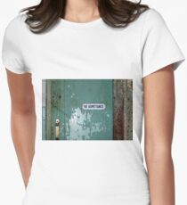 No Admittance Women's Fitted T-Shirt