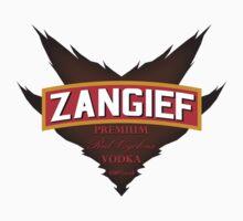 Zangief - Premium Red Cyclone Vodka | Unisex T-Shirt