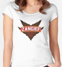 Zangief - Premium Red Cyclone Vodka Women's Fitted Scoop T-Shirt