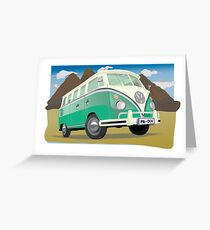 volkswagen Greeting Card