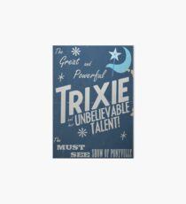 Lámina de exposición ¡El gran y poderoso Trixie!