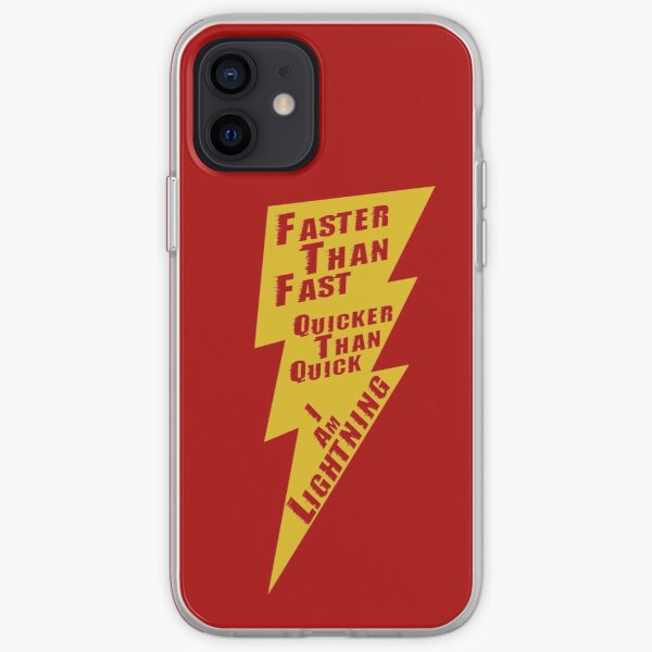 I Am Lightning  iPhone Soft Case