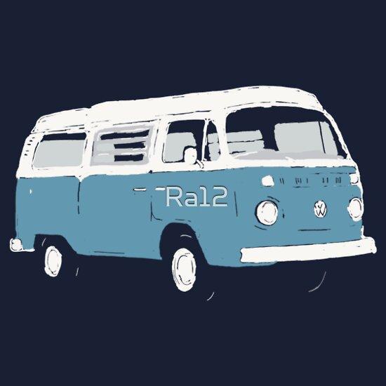 TShirtGifter presents: Bay Window Campervan Basic Colours (see description) | Unisex T-Shirt