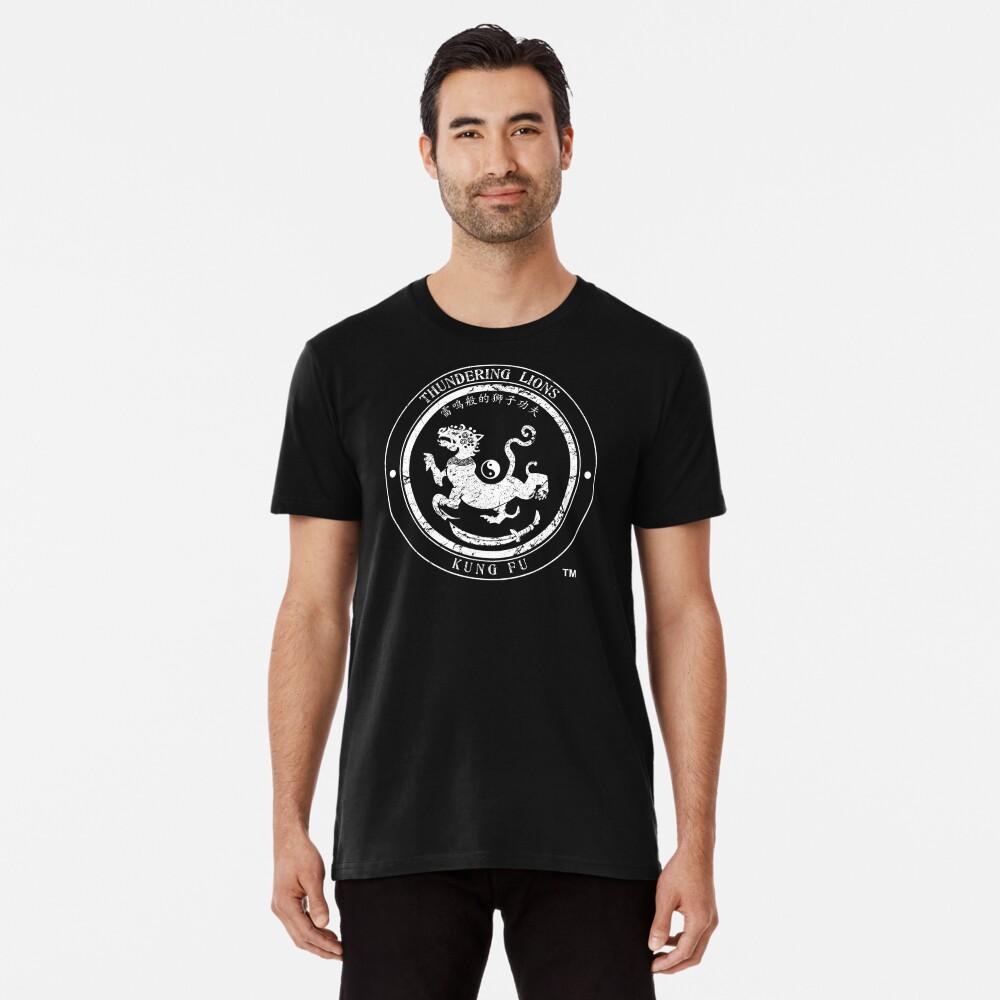 Thundering Lions Kung Fu School Logo Premium T-Shirt