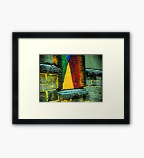 Sailboat on the Sill Framed Print