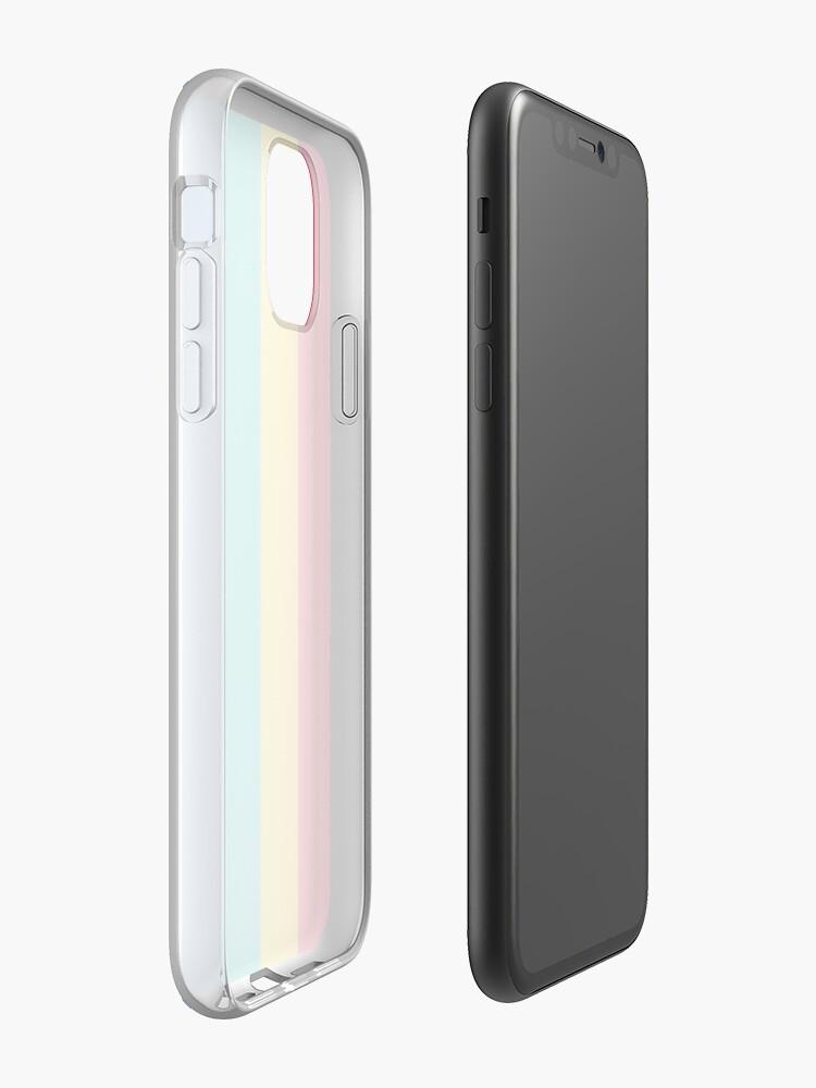 Vista alternativa de Funda y vinilo para iPhone Playstation Colors