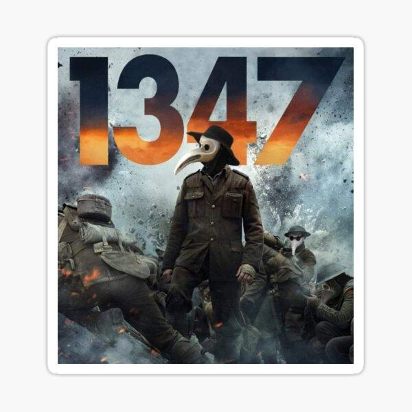 1347 Plague Doctor Sticker