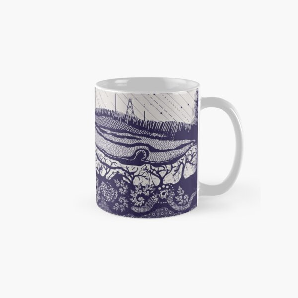 Winter Hill light grey Classic Mug