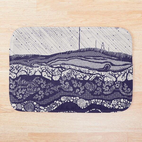 Winter Hill light grey Bath Mat