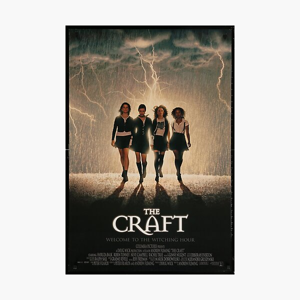 The Craft poster Photographic Print