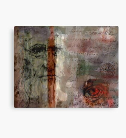 Bifurcated Genius Canvas Print