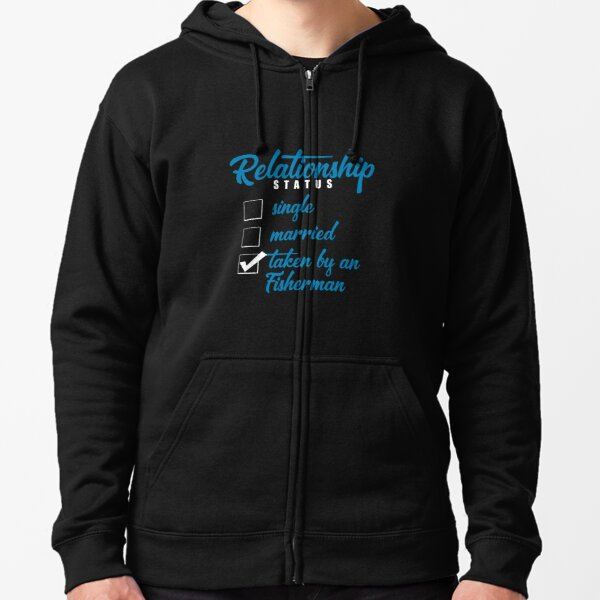 Relationship Status Single Married Given to Zipped Hoodie