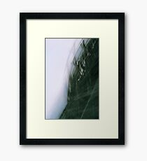 Film Snapshot Study- Wooden Wonder Framed Print