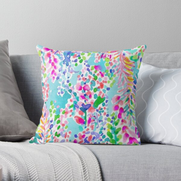 Lilly Pulitzer Pillow Throw Pillow