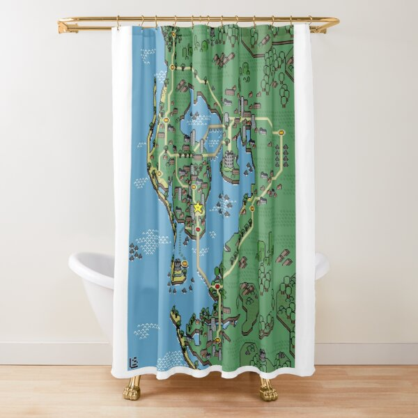 Mushroom Style - Tampa Bay Shower Curtain