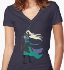 Celaena Sardothien | Erbe des Feuers Tailliertes T-Shirt mit V-Ausschnitt