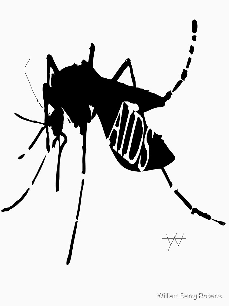 AIDS Mosquito by wmbarryroberts