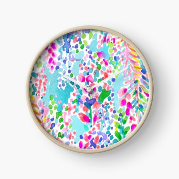Lilly Pulitzer Design Clock
