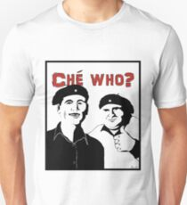"""Personalised """"Che who?"""" t-shirt T-Shirt"""
