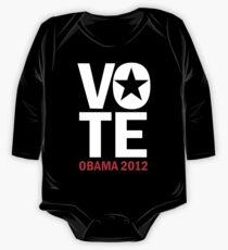 Vote Obama Shirt One Piece - Long Sleeve