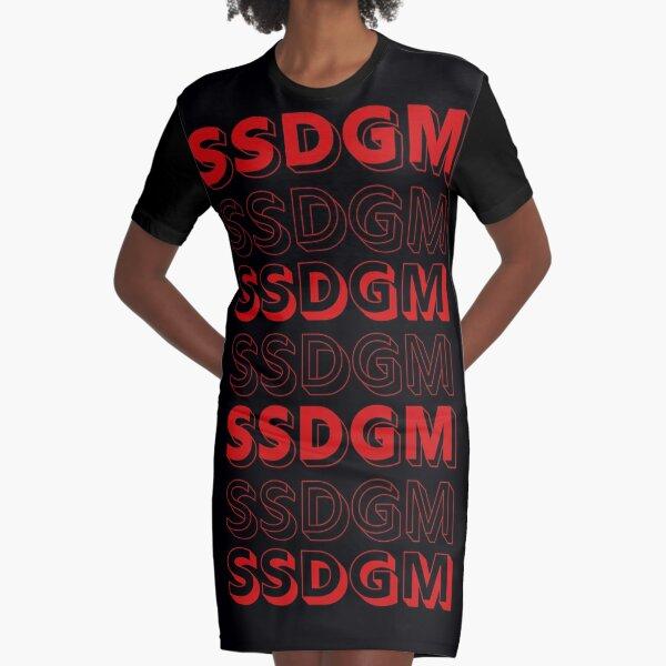 SSDGM My Favorite Murder Basically a detective Graphic T-Shirt Dress