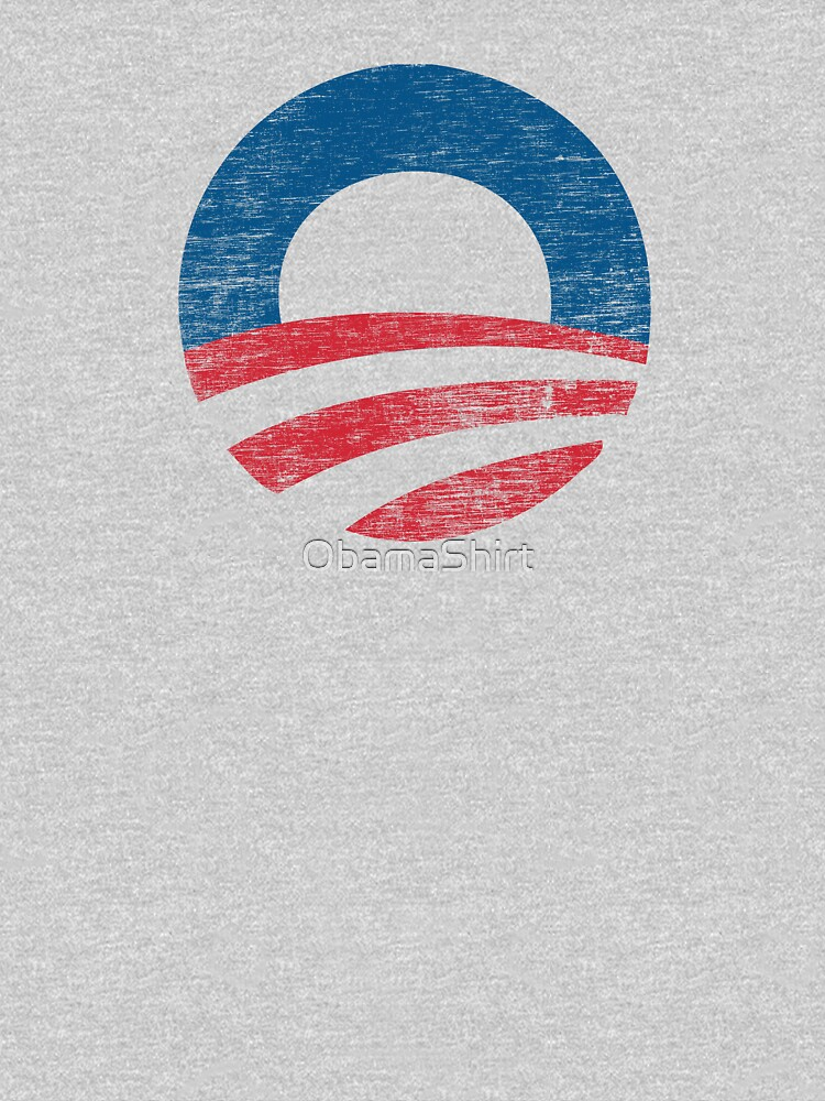 Retro Obama Logo Shirt | Unisex T-Shirt