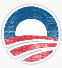 Retro Obama Logo Shirt Sticker