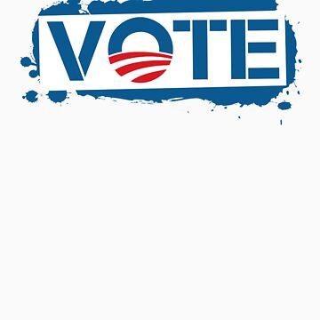 Vote Obama 2012 T Shirt by ObamaShirt