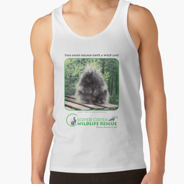 Vinny - This shirt helped SAVE a WILD life! Tank Top