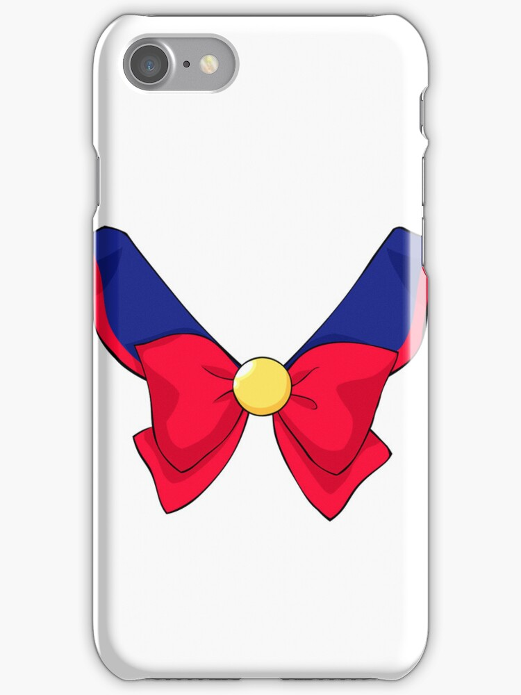 Sailor V Fuku iPhone Case by Oshiokiyo
