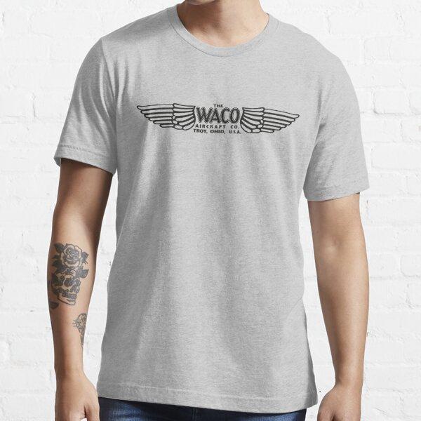 Waco Aircraft Company Logo (Black) Essential T-Shirt
