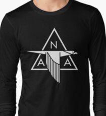 North American Aviation Logo (White) Long Sleeve T-Shirt