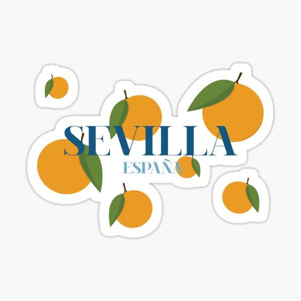 Naranjas Sevilla Pegatina