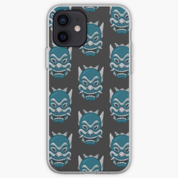 Zuko Blue Spirit Mask ATLA iPhone Soft Case