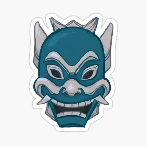 Zuko Blue Spirit Mask ATLA Sticker