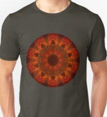 Fire Flower Mandala 2 Unisex T-Shirt