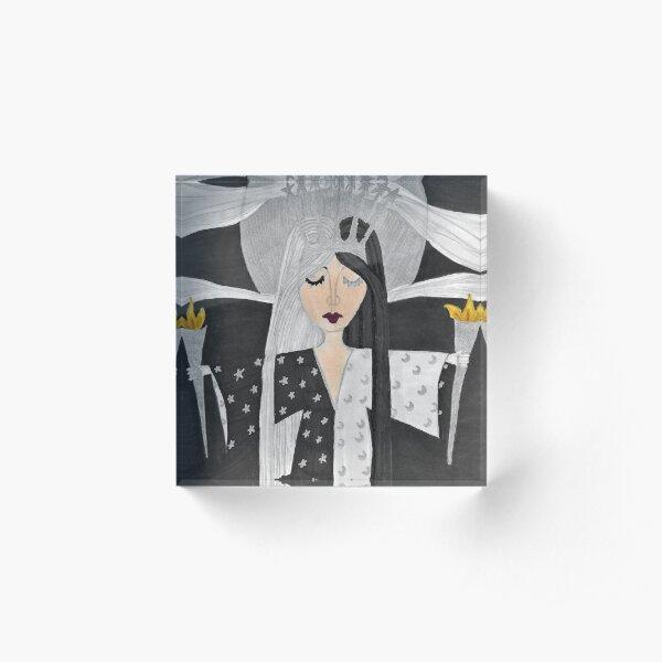 Melinoe - Goddess of the Dreaming World Acrylic Block