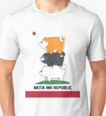 Akita Inu Republic T-Shirt