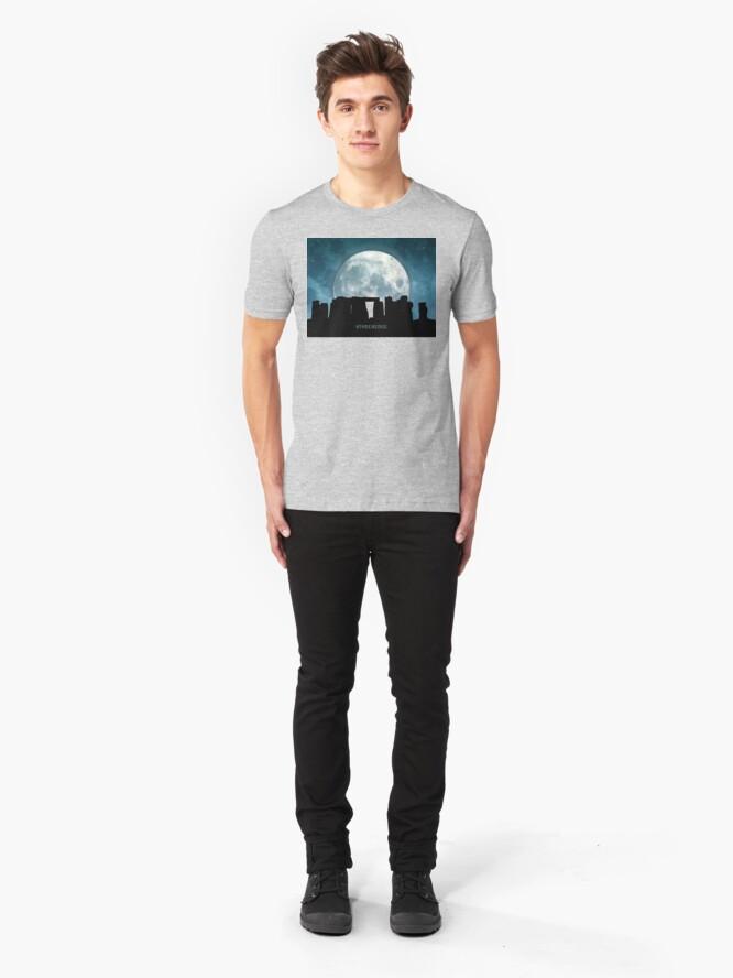 Alternate view of Stonehenge Slim Fit T-Shirt