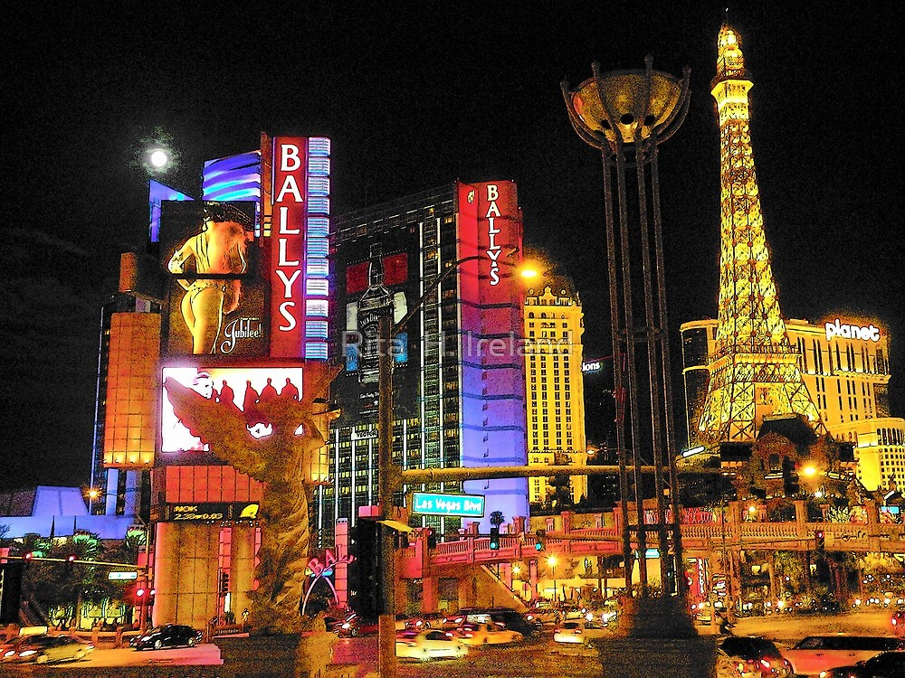 Las Vegas Blvd by Rita  H. Ireland