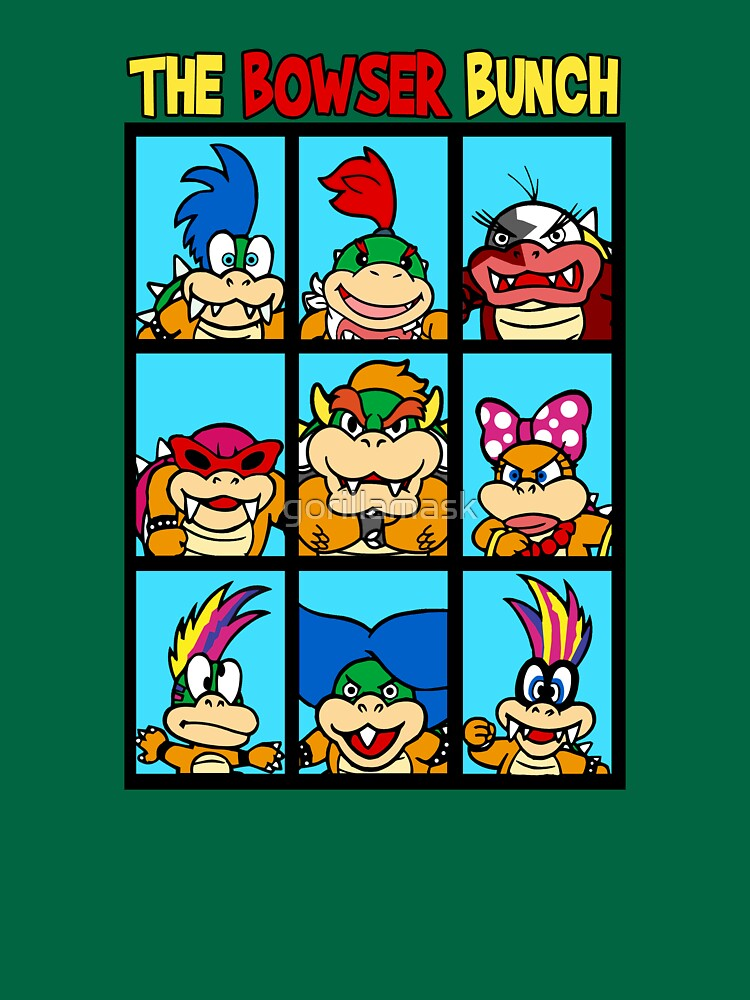 The Bowser Bunch | Unisex T-Shirt