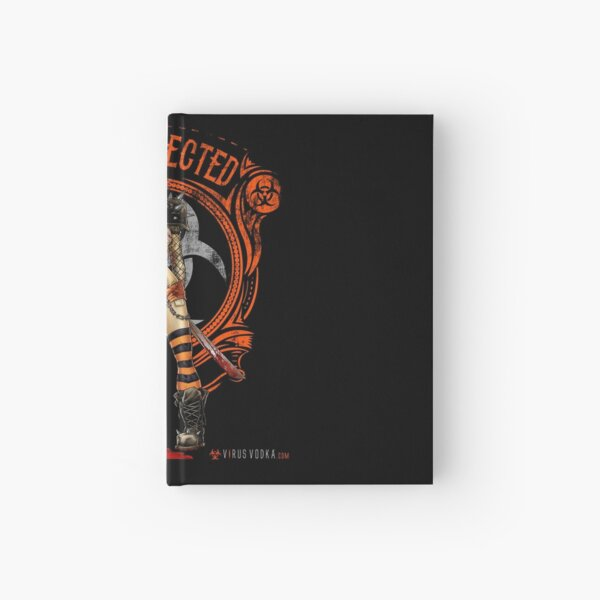 The Official Virus Vodka Zombie Slayer Graphic Hardcover Journal
