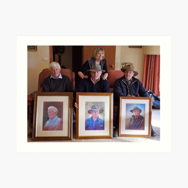 Trilogy of Brothers Photo Art Print