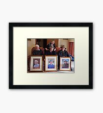Trilogy of Brothers Photo Framed Print