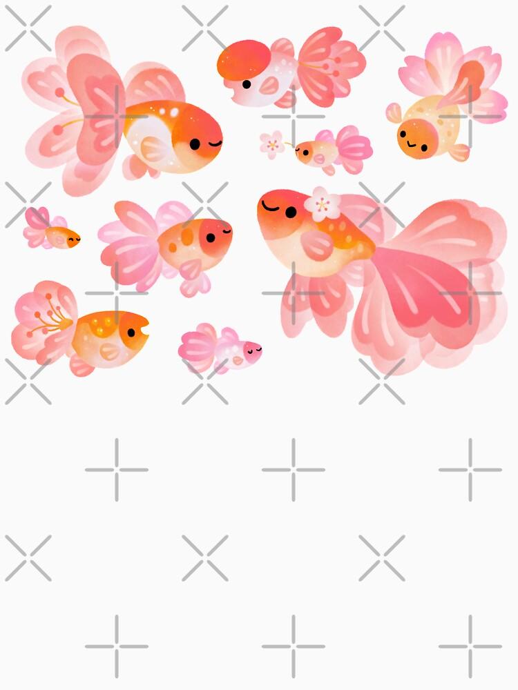 Cherry Blossom Goldfish 2 de pikaole