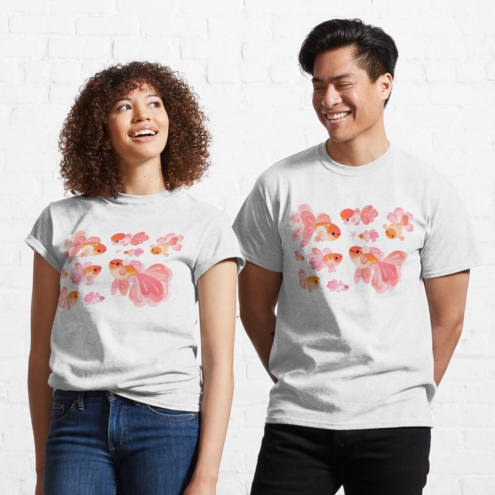 Cherry Blossom Goldfish 2 Camiseta clásica