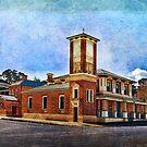 Carcoar Post Office by Stuart Row