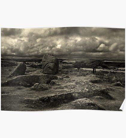 Stormy Moor Poster