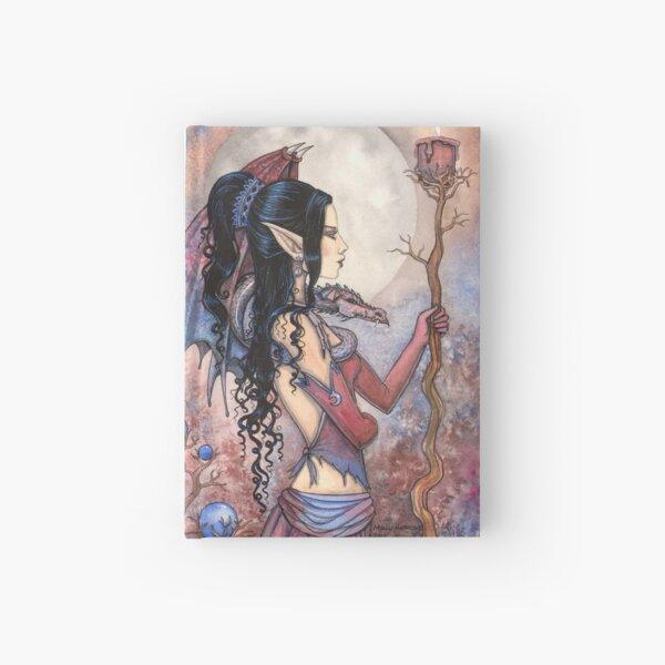 Dragon Girl Gothic Fantasy Art by Molly Harrison Hardcover Journal