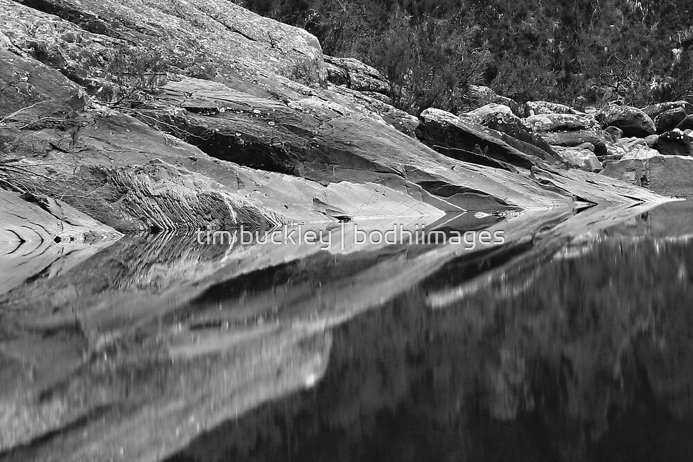 pure, waterhole. eascoast, tasmania by tim buckley | bodhiimages